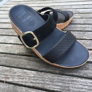 Fitflop Double Strap with Buckle Sandal